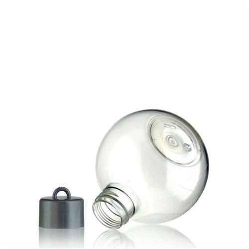 """150ml ballförmige PET-Flasche """"Cap & Hook"""""""