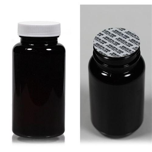 """150ml botella PET """"Packer"""" en el color marrón"""