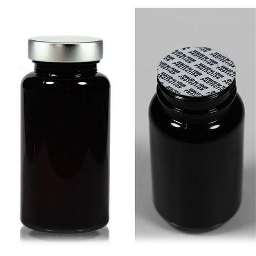 150ml PET Packer-fles met aluminium schroefdeksel