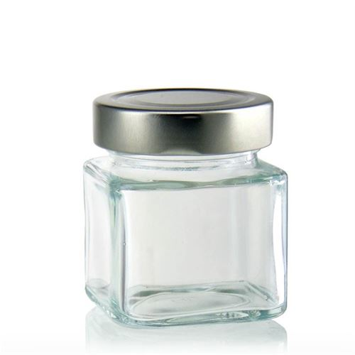 "156ml rectangular design jar ""Funny"""
