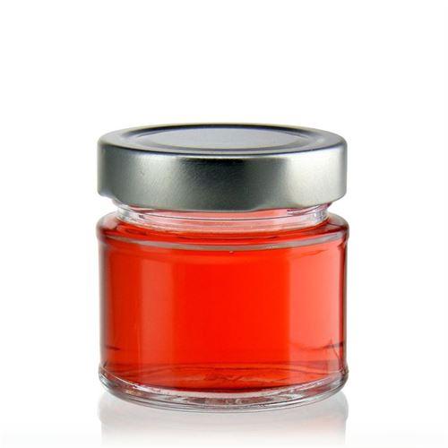 """156ml round design jar """"Enjoy"""""""
