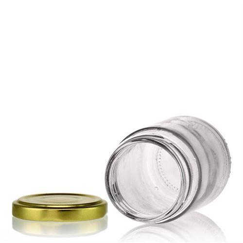 156ml vasetto in vetro Universale con capsula Twist Off 53