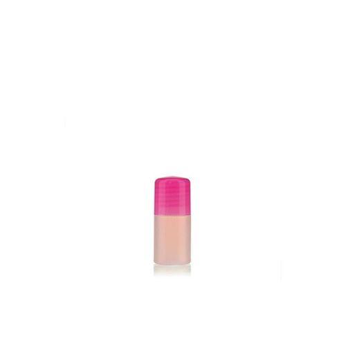 """15ml HDPE-fles """"Tuffy"""" natuur/roze met doseerkop"""