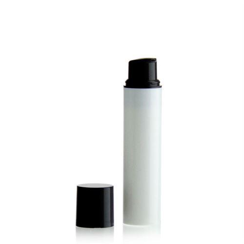 15ml airless pump NANO white/black