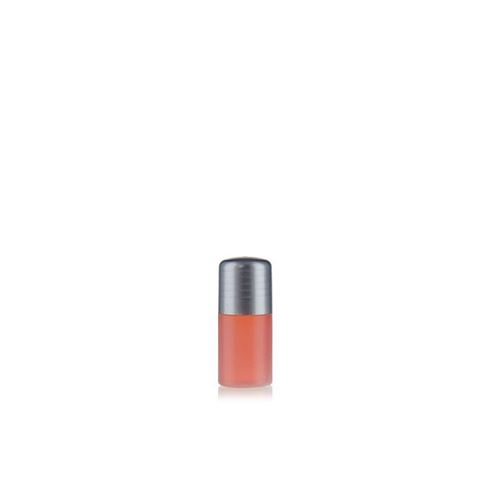 """15ml bouteille HDPE """"Tuffy"""" nature/argenté avec doseur"""