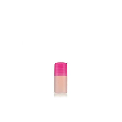 "15ml bouteille HDPE ""Tuffy"" nature/rose avec doseur"