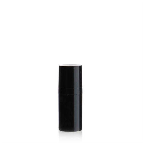 "15ml Airless Dispenser MICRO ""Beautiful Black"""