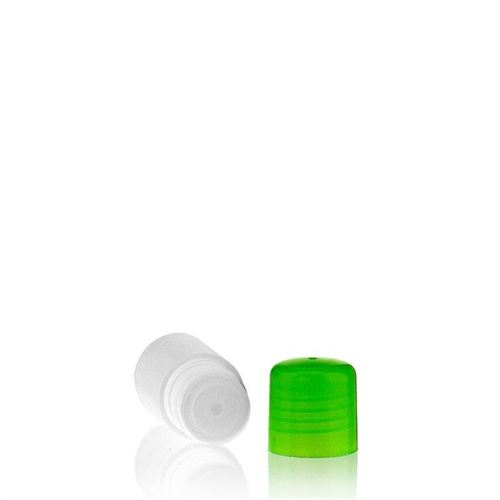 "15ml HDPE bottle ""Tuffy"" green with dispensing tip"