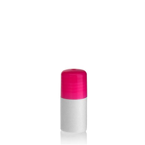 "15ml bouteille HDPE ""Tuffy"" rose avec doseur"