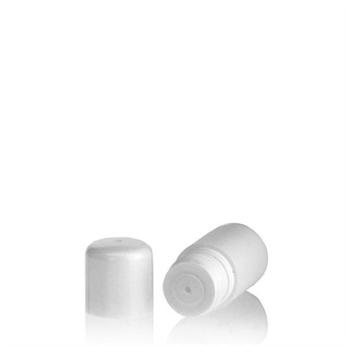 "15ml HDPE bottle ""Tuffy"" white with dispensing tip"