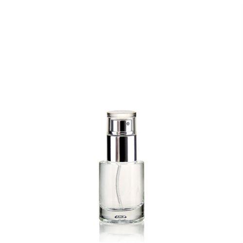 """15ml bottiglia in vetro chiaro """"Jasmina"""""""