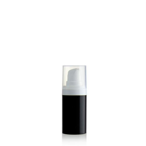 "15ml dispenser ""Airless"" MICRO black/white"