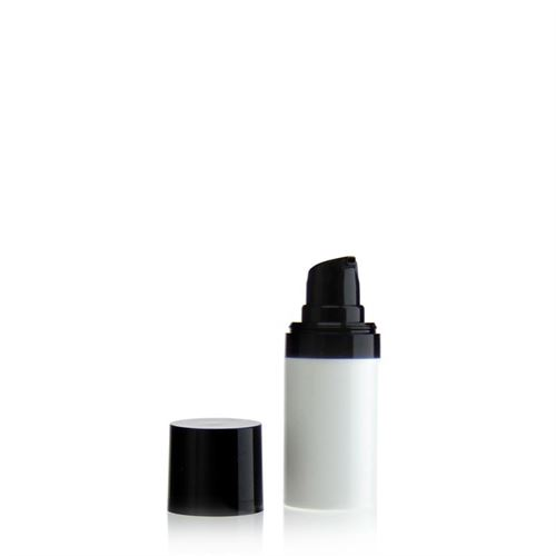 "15ml dispenser ""Airless"" MICRO white/black"