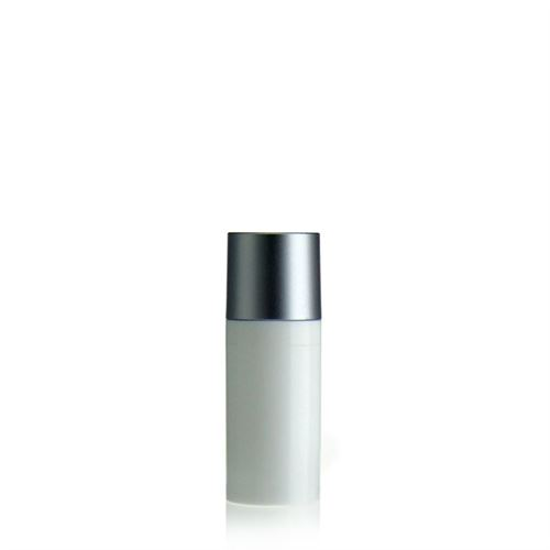 "15ml Airless Dispenser MICRO ""Silver cap"""