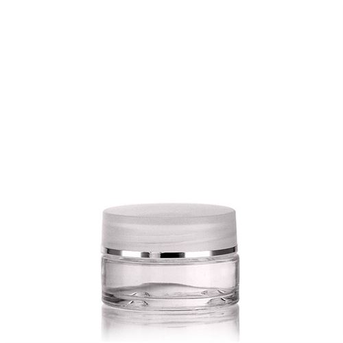 "15ml glasdåse ""Clear Edition"""