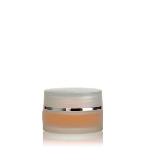 """15ml glass jar """"Platin Edition"""""""