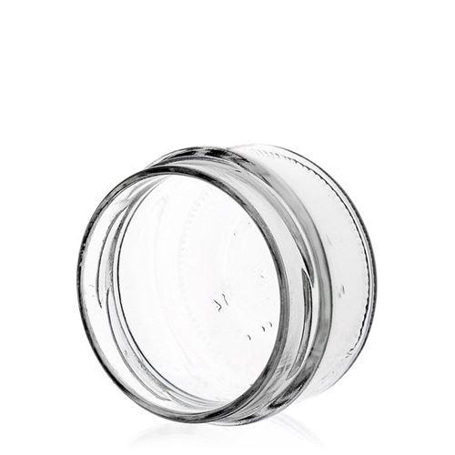 "190ml vasetto rotondo in vetro designer ""Monza"" argentato"