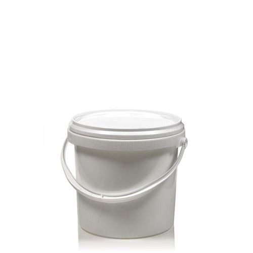 1 Liter Eimer mit Deckel