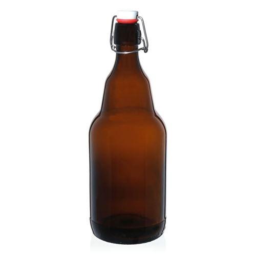 """2000ml Bottiglia per birra marrone """"Gigante"""""""