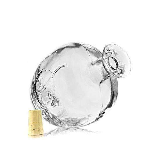 """200ml Bottiglia in vetro chiaro """"Mela"""""""
