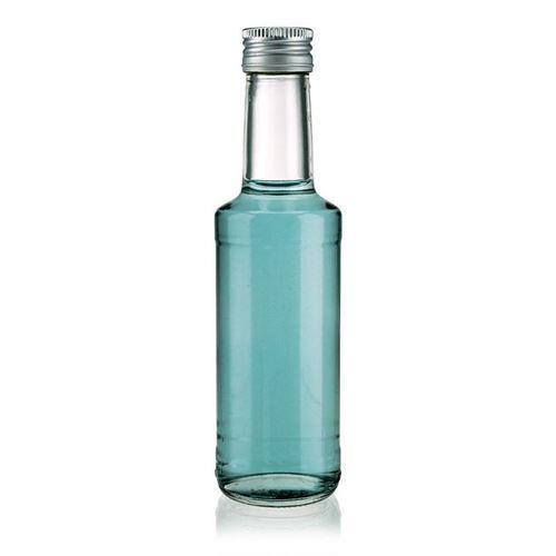 "200ml Bottiglia in vetro chiaro ""Bernie"""