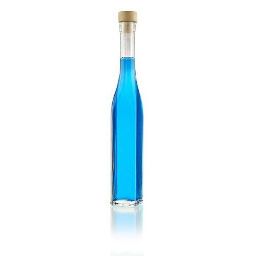 """200ml Bottiglia in vetro chiaro """"Rebecca"""""""