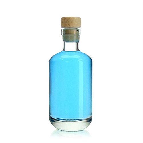 """200ml Bottiglia in vetro chiaro """"Vienna"""""""