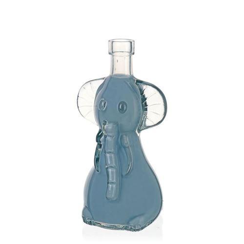 "200ml Klarglasflasche ""Elefant"""