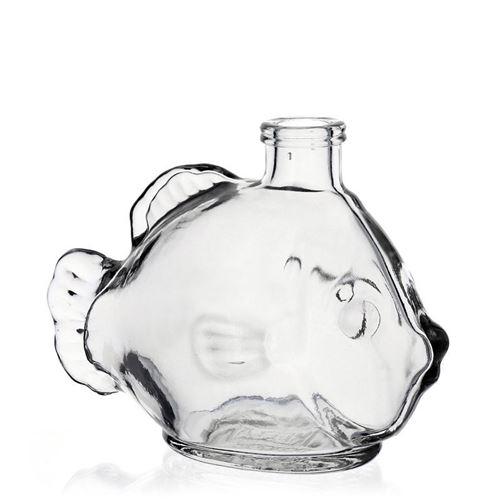 """200ml Klarglasflasche """"Fisch"""""""