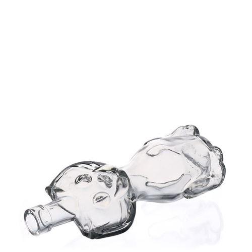 """200ml Klarglasflasche """"Katze"""""""
