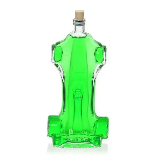 """200ml Klarglasflasche """"Rennwagen"""""""