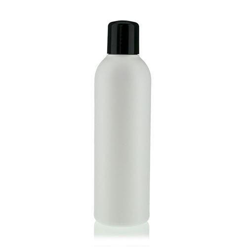 """200ml HDPE-Flasche """"Tuffy"""" schwarz mit Spritzeinsatz"""