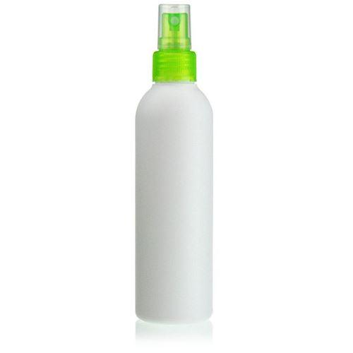"""200ml HDPE-flaske """"Tuffy"""" grøn med sprayhoved"""