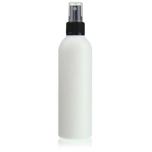 "200ml HDPE-flaske ""Tuffy"" sort med sprayhoved"