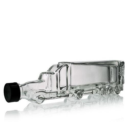 """200ml botella de vidrio transparente """"Truck"""""""