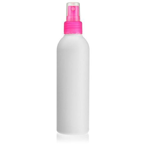 """200ml bottiglia HDPE """"Tuffy"""" rosa con erogatore spray"""