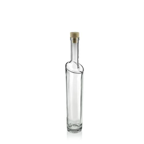 """200ml Bottiglia in vetro chiaro """"Feeling"""""""