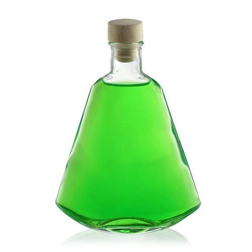 """200ml bottiglia in vetro chiaro """"Carracho"""""""
