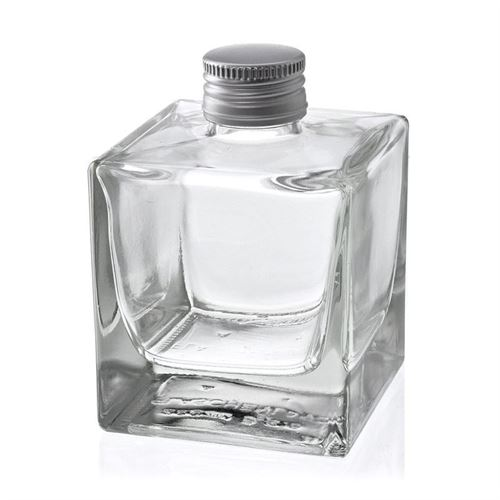 """200ml bouteille avec bouchon à vis """"Cube"""""""