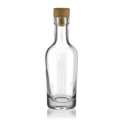 "200ml bouteille en verre clair ""Pepe"""