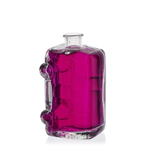 "200ml bouteille verre clair ""Camping-car"""