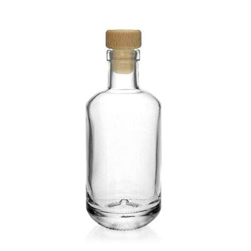 """200ml bouteille verre clair """"Vienna"""""""