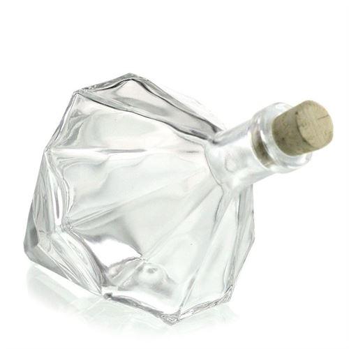 "200ml designerflaske ""Diamant"""