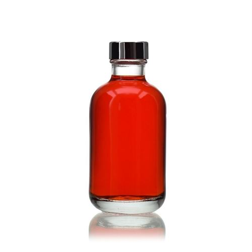 """200ml flaske i klart glas """"Lotto"""" GPI"""