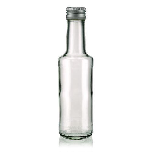 """200ml glazen fles clear """"Bernie"""""""