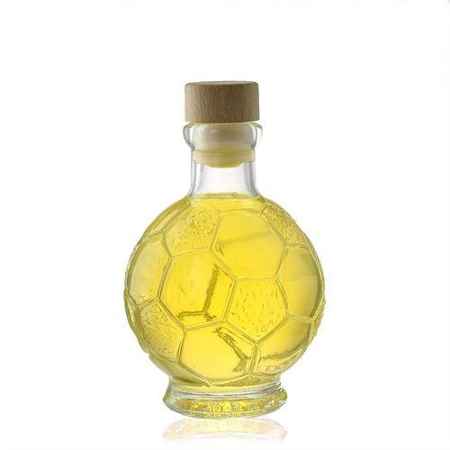 "200ml glazen fles clear ""Voetbal"""