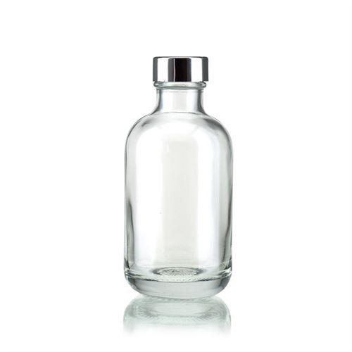 "200ml glazen fles clear  ""Lotto"" met GPI"