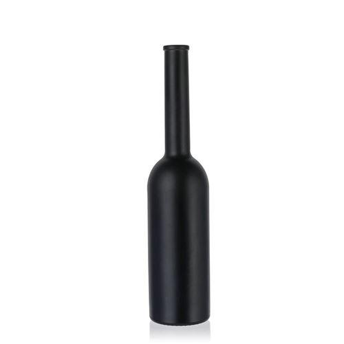 """200ml schwarz-mattierte Flasche """"Opera"""""""