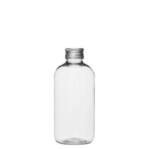 "200ml PET-flaske ""Boston"", aluminium"