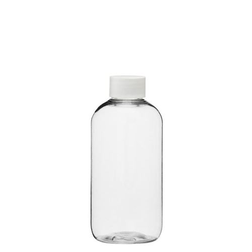"200ml PET-flaske ""Boston"", hvidt"